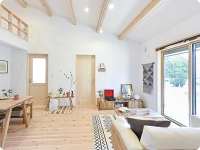 高性能・低価格の自然素材住宅イメージ