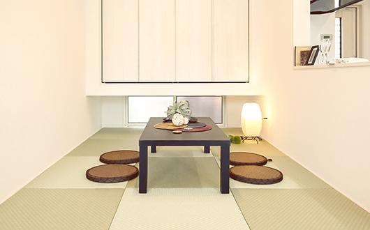 ギャラリー画像:癒しの空間になる畳スペース