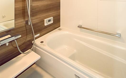 ギャラリー画像:ゆったりと使える浴室