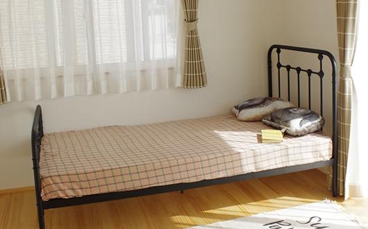 ギャラリー画像:居心地の良い時間が流れる寝室