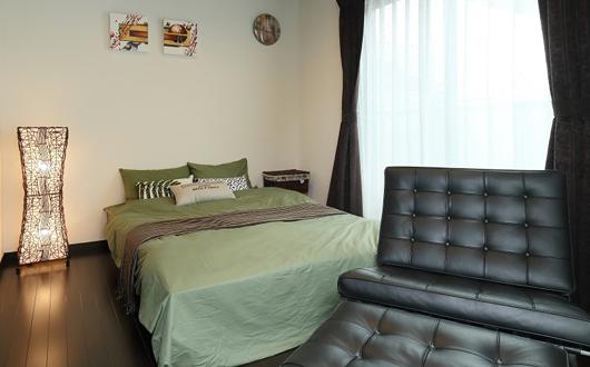 ギャラリー画像:毎日に落ち着きをもたらす寝室