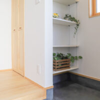 土間収納+収納スペース