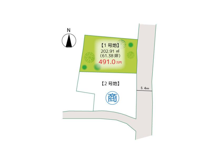 アイタウン長尾-区画図